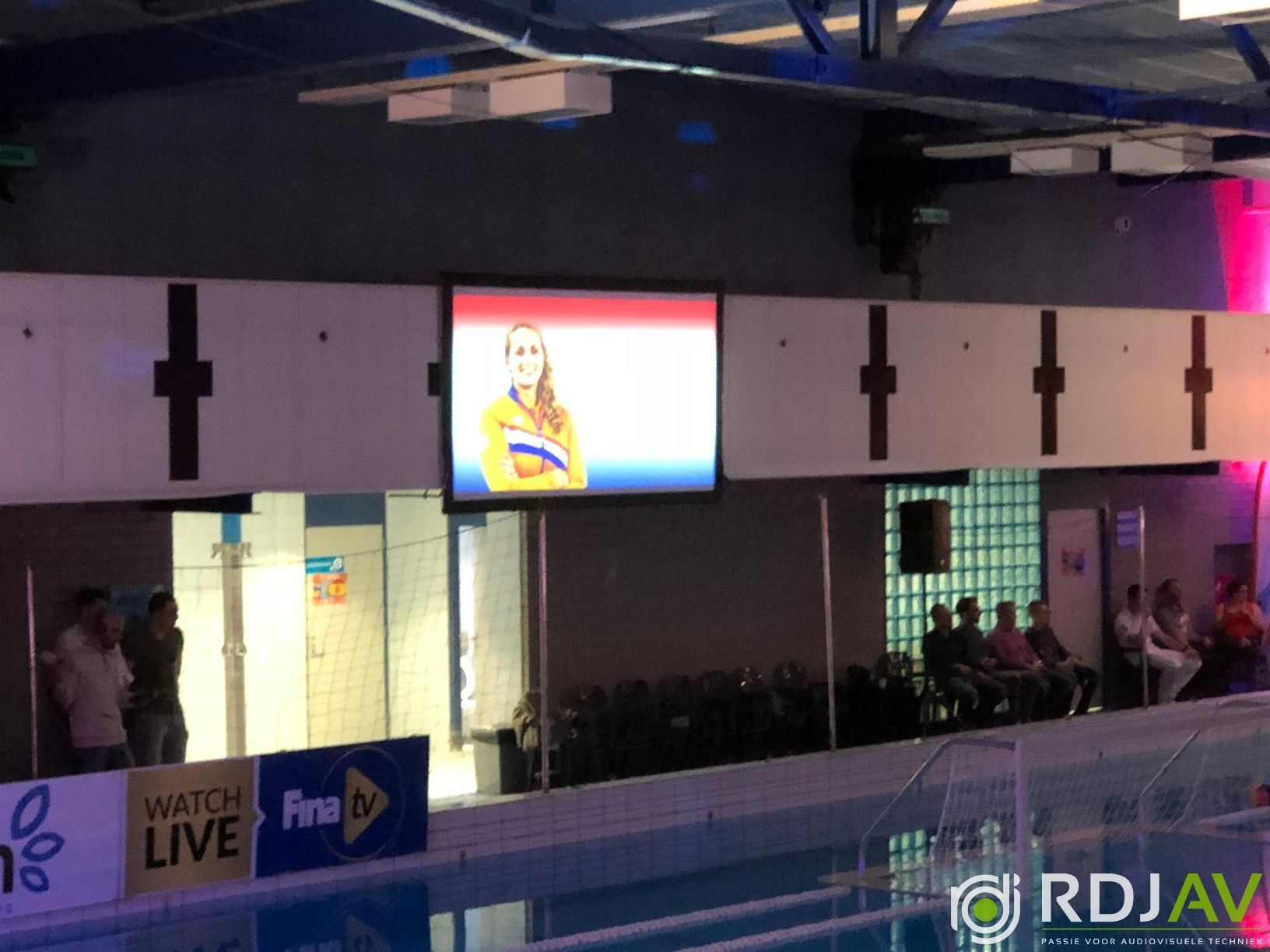 Presentatie zwembad