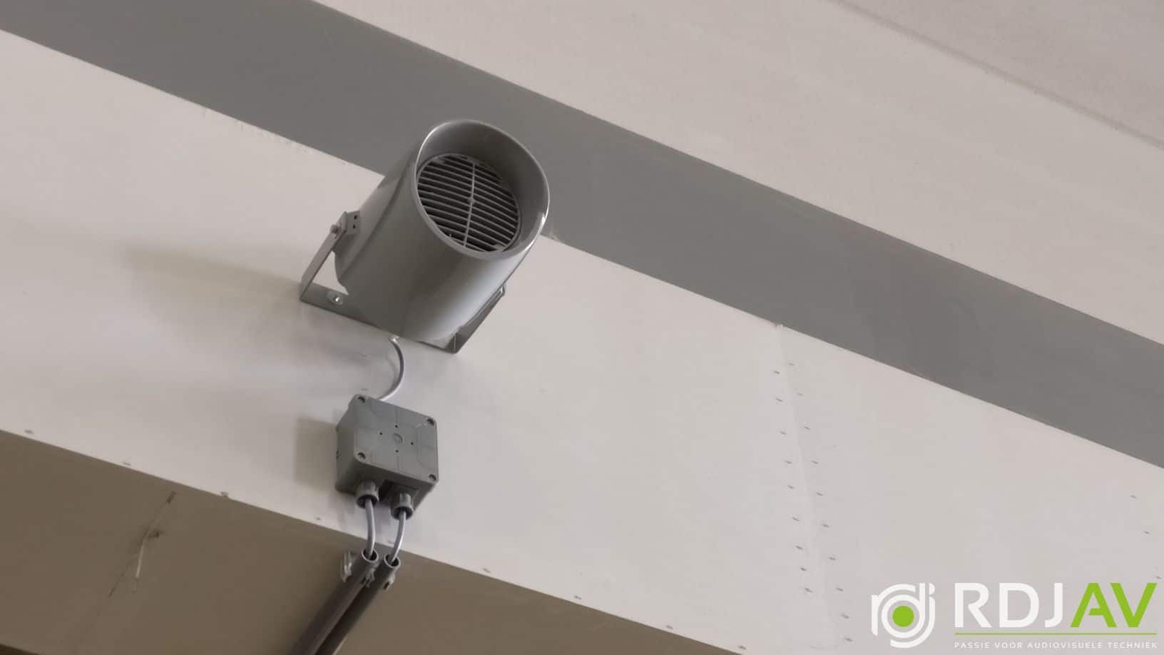 Speaker productiehal