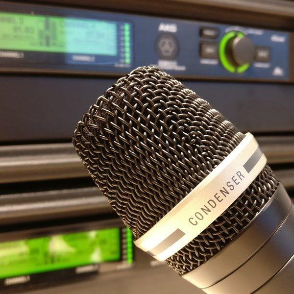 Nieuwe draadloze microfoons in de verhuur