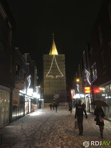 Verlichting kerktoren