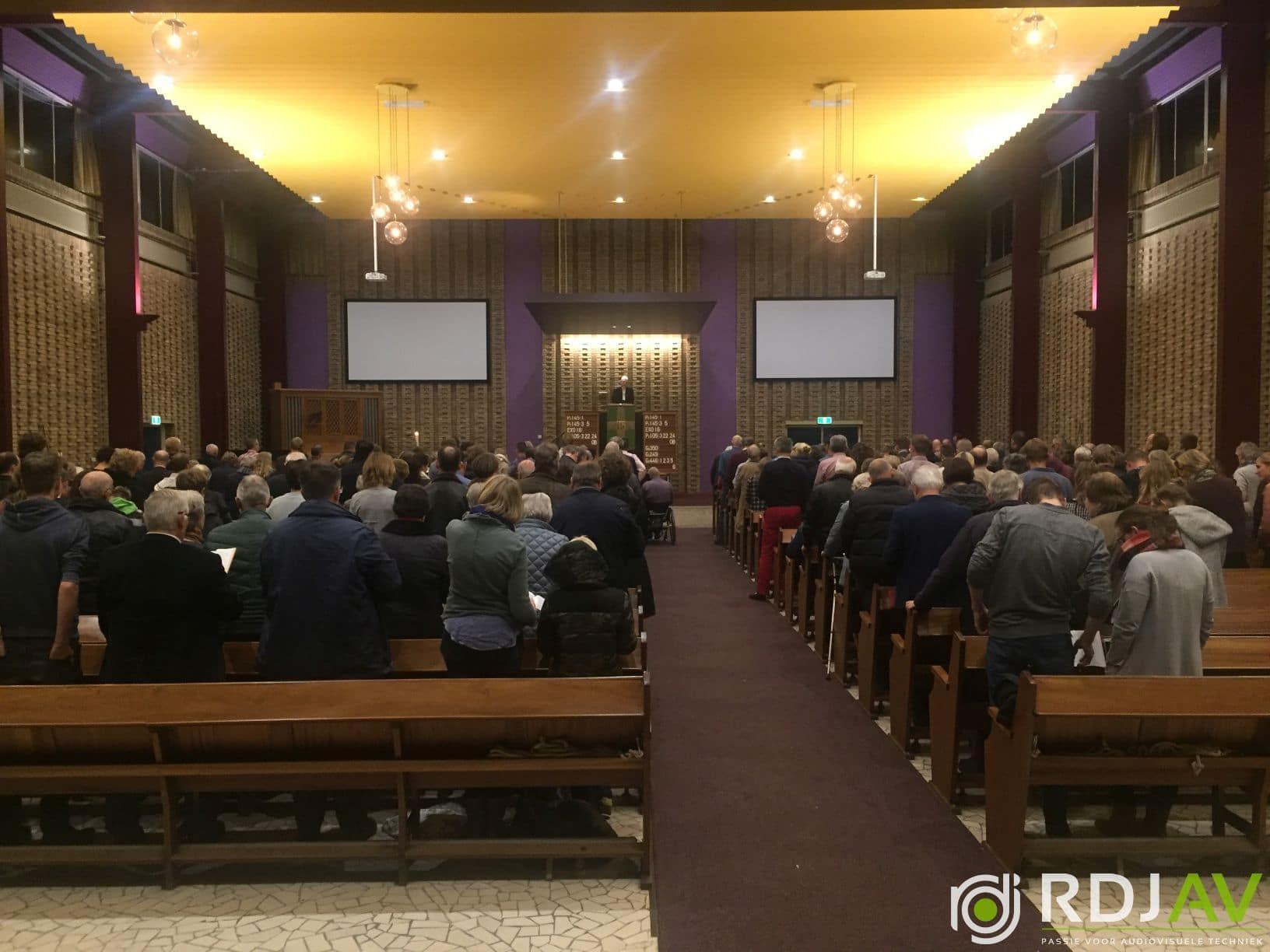 Bethelkerk beamers