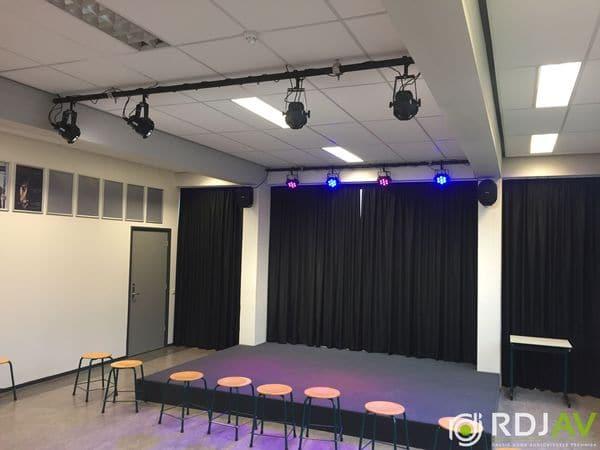 Dramalokaal voor het Marnix College