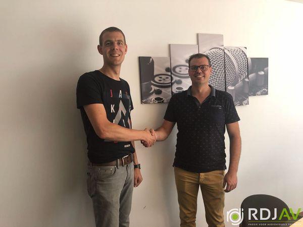 Nieuwe collega! Mark Oosterveld