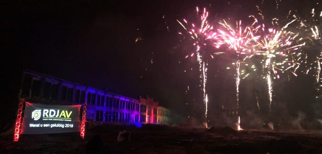 Spektaculaire vuurwerkshow Ede 2018/2019
