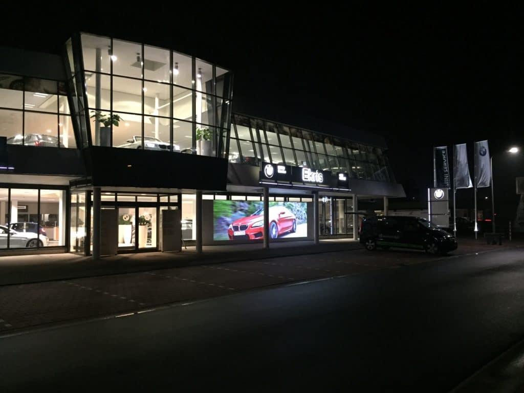 Videowall BMW Nijkerk
