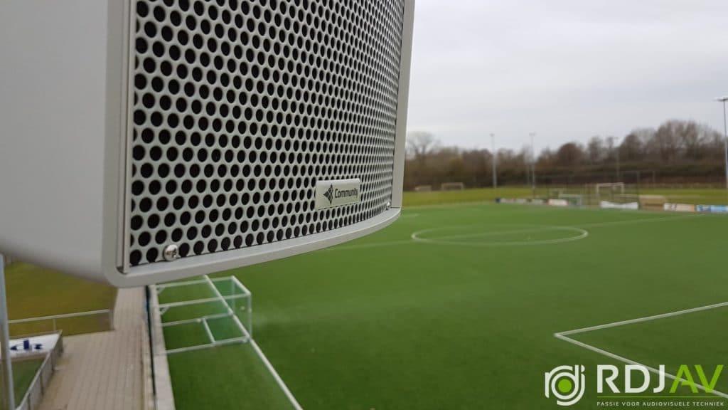 Investeren in goed geluid op het sportveld