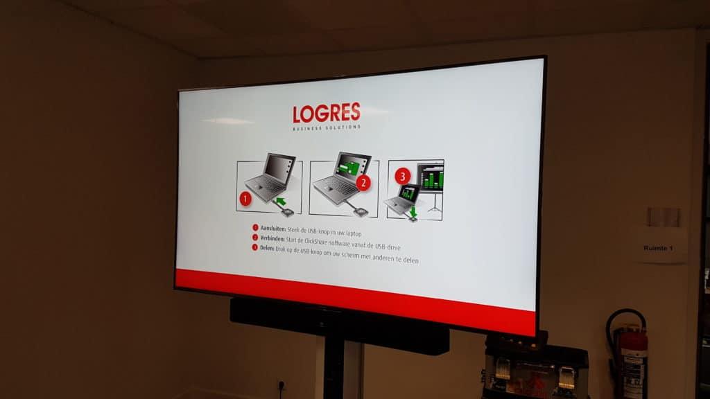 Displays bij Logres