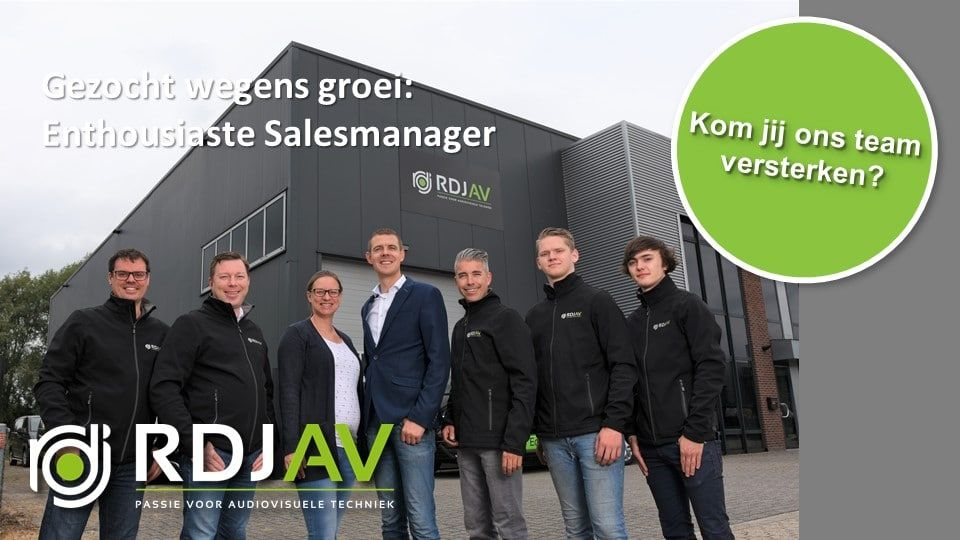 Vacature Salesmanager