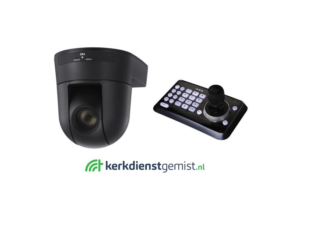 Livestream + camera voor kerken