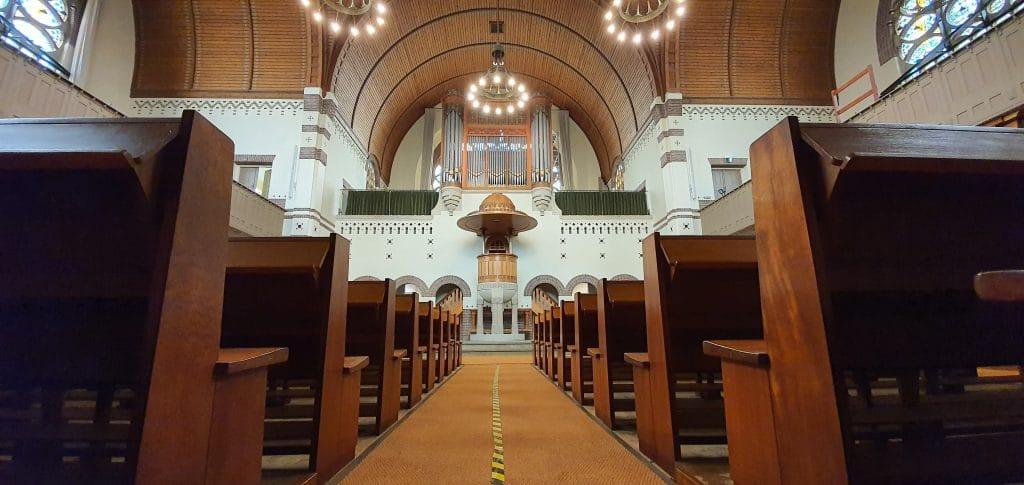 Twee kerken in Zuid-Holland