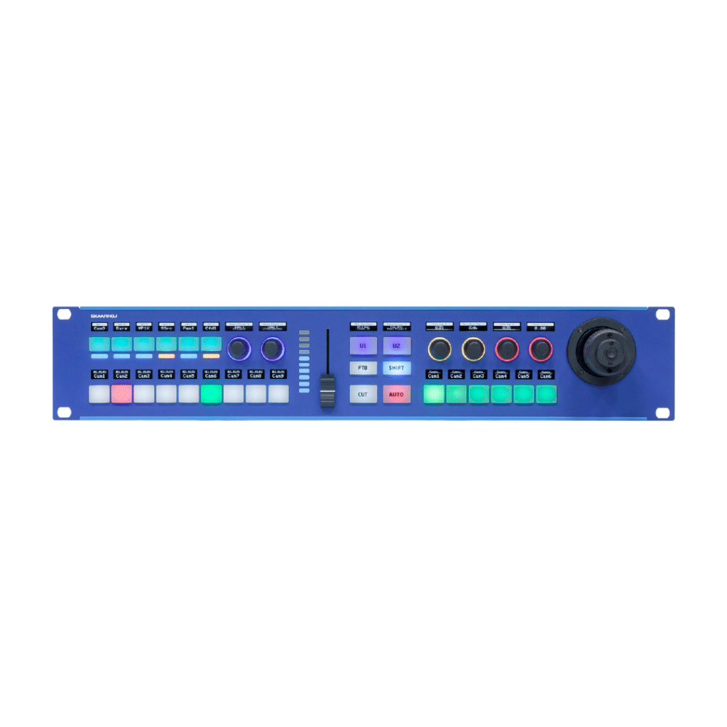 SKAARHOJ Rack Fusion Live PTZ Controller